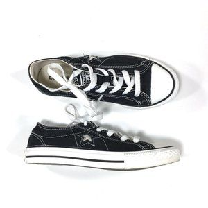 Converse One Star Shoes Junior Size 2